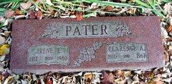 Irene E <i>Elmer</i> Pater