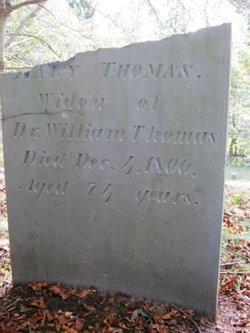 Mary <i>Howland</i> Thomas