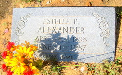 Estelle P Alexander