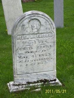 Helen M. <i>Crosier</i> Brown