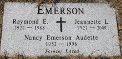 Nancy <i>Emerson</i> Audette