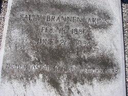 Sally <i>Brannen</i> Akins