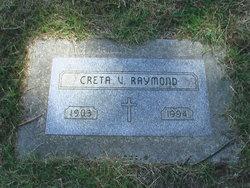 Creta V. <i>Smith</i> Raymond