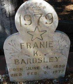 Franie K. <i>Hacker</i> Bardsley
