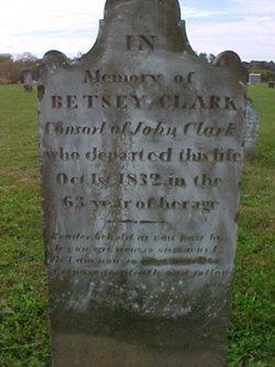 Elizabeth Betsey <i>Edgecomb</i> Clark
