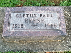 Cletus Paul Reese