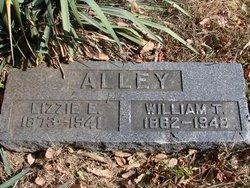 Elizabeth Catherine Lizzie <i>Hutchens</i> Alley