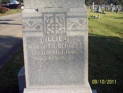 Lillie R. <i>Dickens</i> Bennett