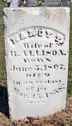 Nancy Jane <i>Thaxton</i> Allison