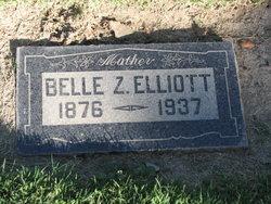 Belle Zinea <i>Morris</i> Elliott