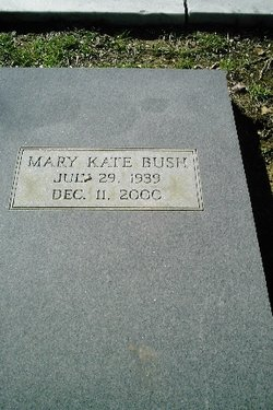 Mary Kate Bush