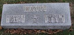 Bernadine E. <i>Oller</i> Hayes