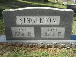 Benjamin Franklin Ben Singleton