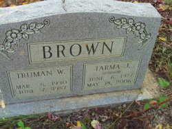 Tarma June <i>Sparrow</i> Brown, Sr