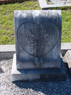 Martha Janie <i>Akins</i> Hollingsworth