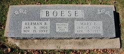 Mary Ethel <i>Taylor</i> Boese