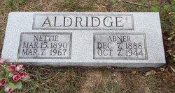 Nettie <i>Blaine</i> Aldridge