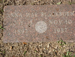 Anna Mae <i>Wilson</i> Blackburn