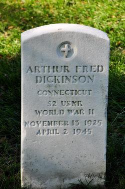 Arthur F Dickinson