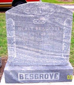 Henry Harry Besgrove