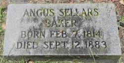 Angus Sellars Baker
