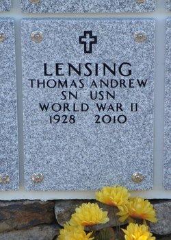 Thomas Andrew Lensing, Sr