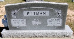 Mahala Rae <i>Bailey</i> Pittman