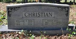 Rosa Lee <i>Clark</i> Christian