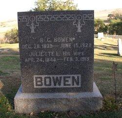 Juliette Lovelace Jewell <i>Smith</i> Bowen