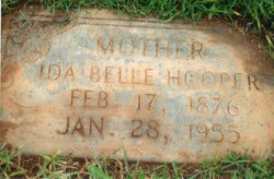 Ida Belle <i>King</i> Hooper