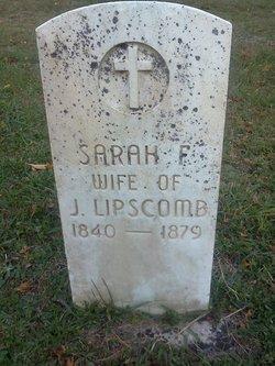 Sarah Frances <i>Judy</i> Lipscomb