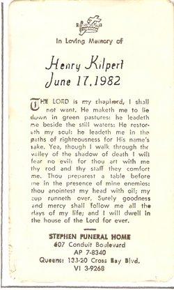 Henry Hank Kilpert