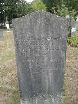 Caroline E. B. <i>Chapman</i> Alexander