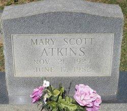 Mary <i>Scott</i> Atkins