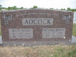 Willie <i>Bailey</i> Adcock