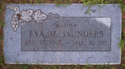 Eva M Saunders