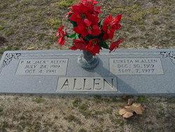 Percy M Jack Allen