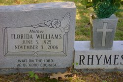 Florida <i>Williams</i> Rhymes