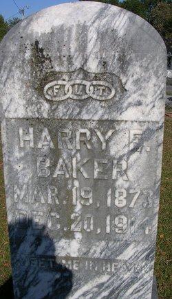 Harry F Baker