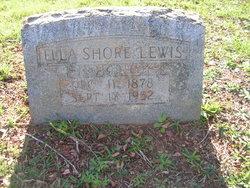 Ella <i>Shore</i> Lewis