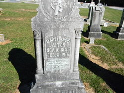 Mary Frances Aiton
