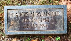 Frances M. Fannie <i>Alford</i> Palmateer