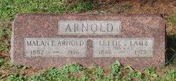 Malan E. Arnold