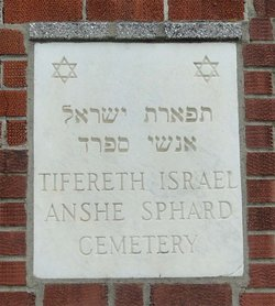 Tifereth Israel Anshe Sfard Cemetery