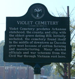 Violet Cemetery