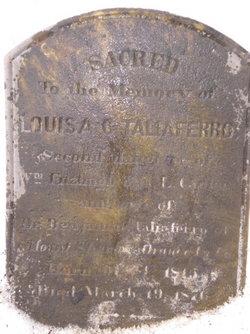 Louisa Fitzhugh <i>Carter</i> Taliaferro