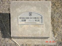 William Edward Acker