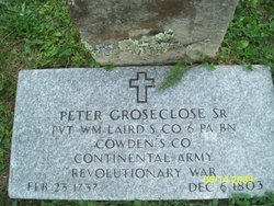 Peter Groseclose, Sr