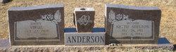 Nettie Frances <i>Shelton</i> Anderson