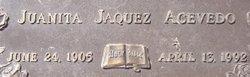 Juanita <i>Jaquez</i> Acevedo